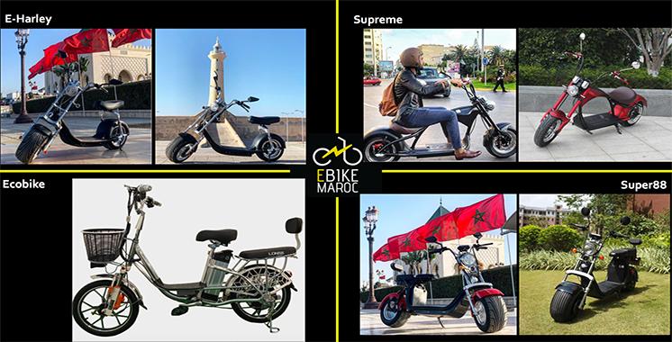 E Bike Maroc : De nouveaux vélos et motocycles 100% électriques