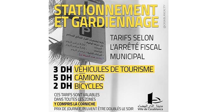Tarifs de stationnement : La Commune recadre les gardiens de voitures
