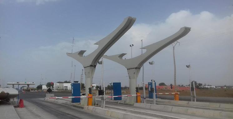 Autoroute Casablanca-El Jadida : La circulation sera provisoirement suspendue à l'entrée en raison des travaux