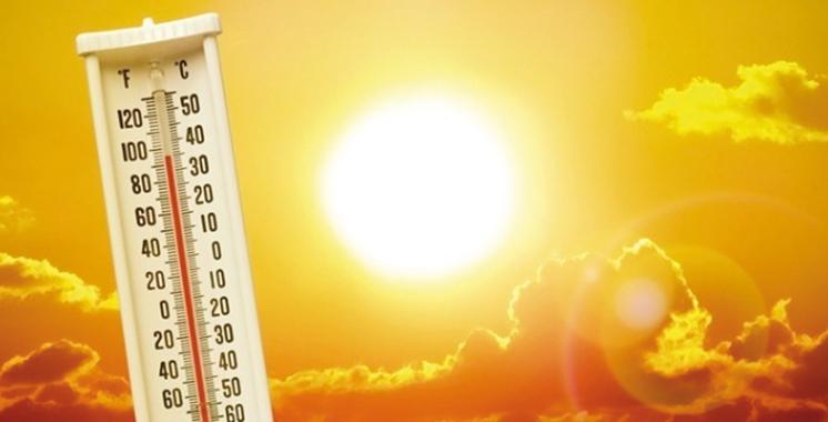 Le mercure atteindra les 45 °C dans certaines régions