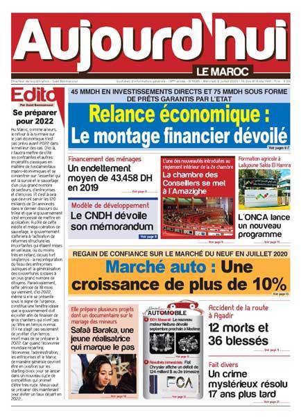 Journal Électronique du Mercredi 5 août 2020