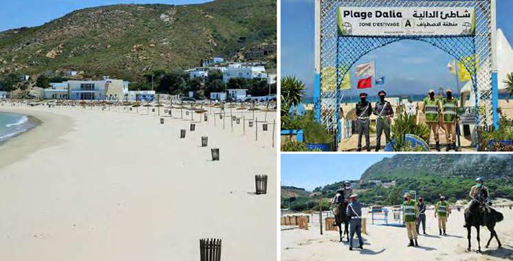 Covid-19 : Fermeture des plages relevant  de la province de Fahs-Anjra
