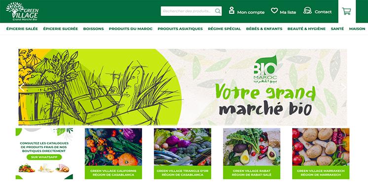 Greenvillage.ma : Une plateforme ultra moderne pour le Bio voit le jour