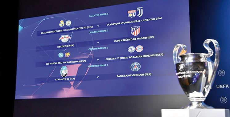 Ligue Des Champions 2020 2021 Quart De Finale : Adidás ...