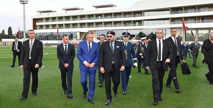 L'inauguration du complexe Mohammed VI de Football donne une autre dimension à la discipline : Un haut lieu du ballon rond voit le jour