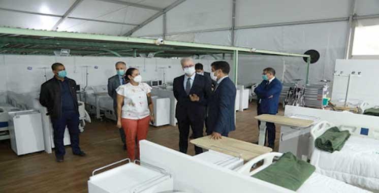 Marrakech : Le chapiteau désormais prêt à accueillir les premiers cas Covid-19