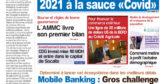 Journal Électronique du Jeudi 24 Septembre 2020