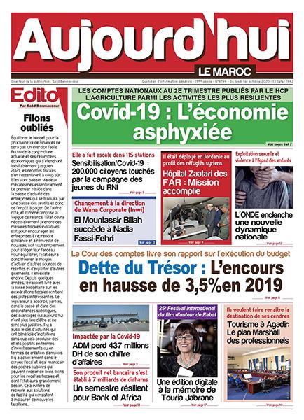 Journal Électronique du Jeudi 01 Octobre 2020