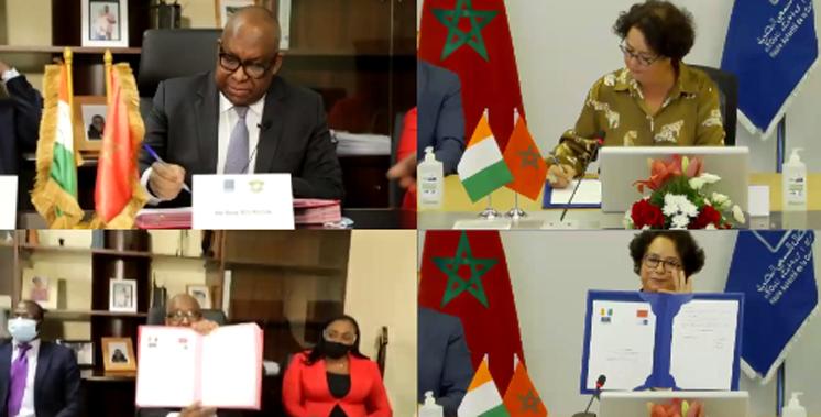 Communication audiovisuelle: Akharbach partage son expertise avec la Côte d'Ivoire