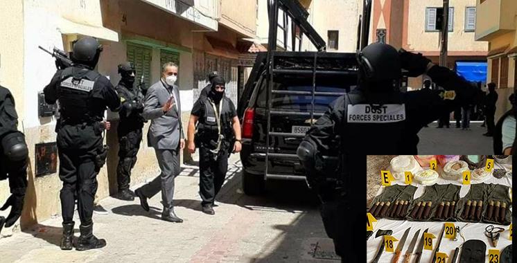 Cellule terroriste démantelée jeudi simultanément : Des opérations terroristes suicides dangereuses épargnées