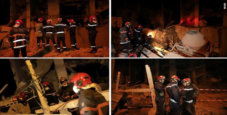 Marrakech : Un mort dans l'effondrement partiel d'un chantier de construction lié à l'extension d'une clinique privée