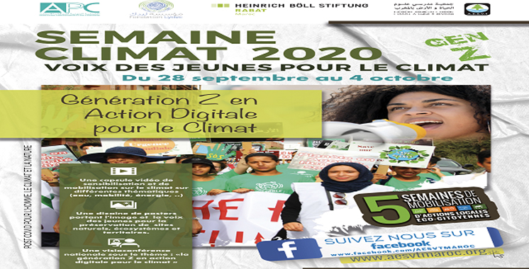 La Semaine Climat 2020 Digitale : La génération Z en action digitale pour le climat