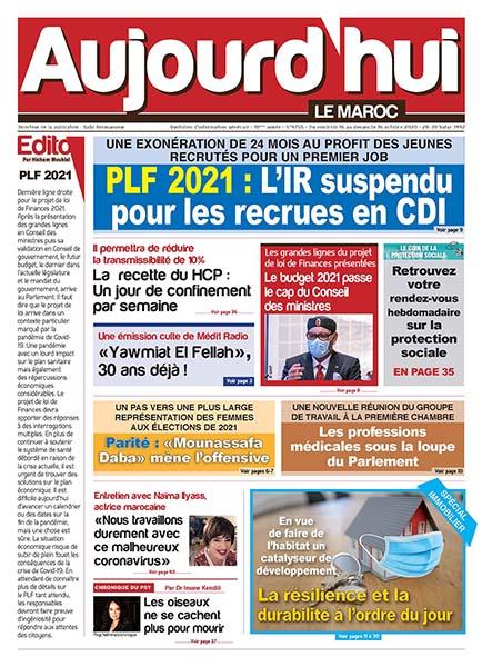 Journal Électronique du Vendredi 16 Octobre 2020