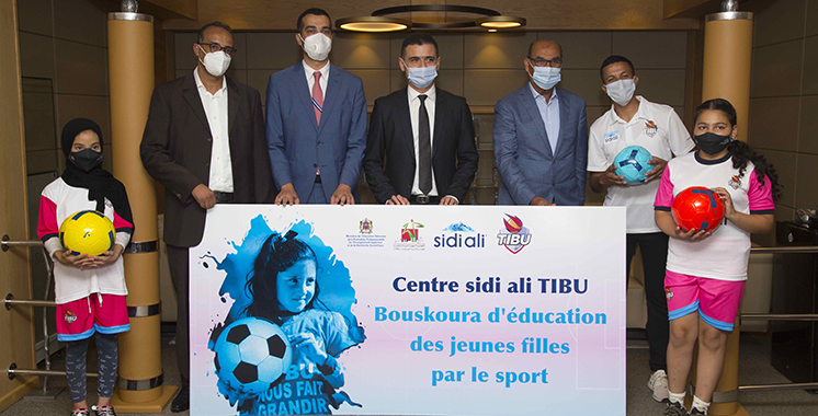 «TIBUxSidiali» : Un 1er centre d'émancipation des adolescentes par le Football