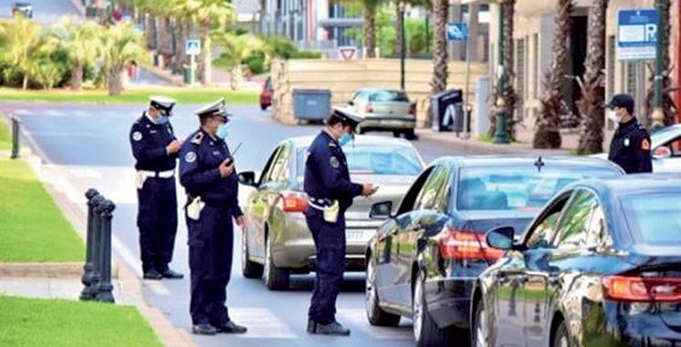 Casablanca: 27 Interpellations pour violation de l'état d'urgence sanitaire