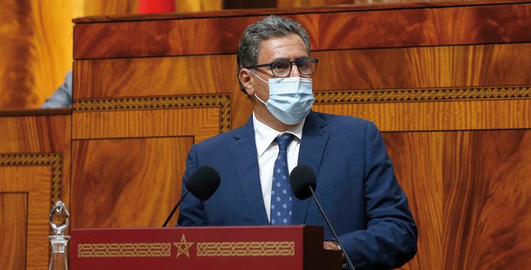 Campagne agricole 2020-2021: Aziz Akhannouch fait le point devant les députés