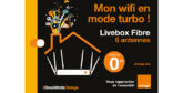 Orange lance la Livebox Fibre à 6 antennes