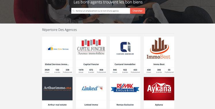 Lancé à l'initiative de Sarouty.ma : Un annuaire digital pour les agences immobilières