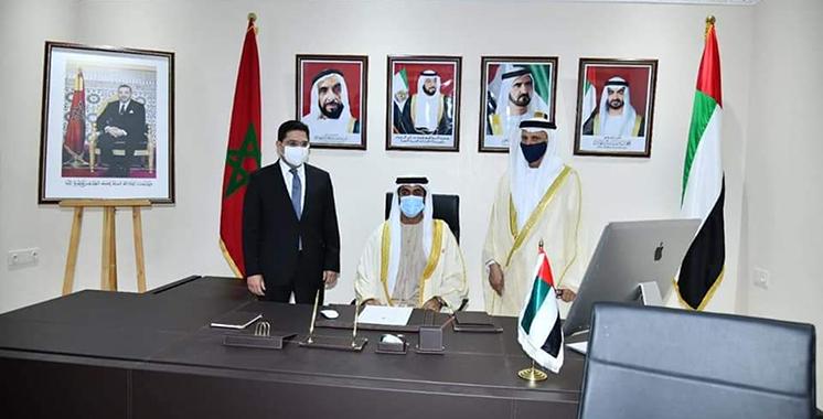 Diplomatie : Les Emirats ouvrent la voie devant les pays arabes
