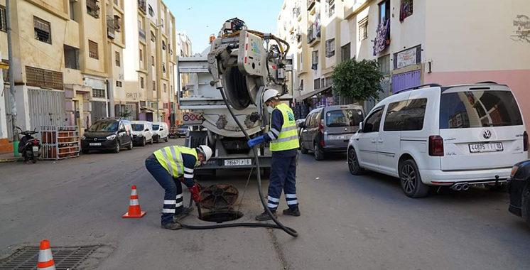 Fortes pluies attendues à Casablanca : Lydec est à pied d'oeuvre