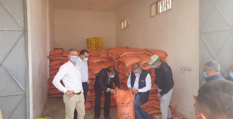 Distribution de semences de blé Syngenta Maroc et Agrin Maroc : 220 agriculteurs bénéficiaires de l'opération