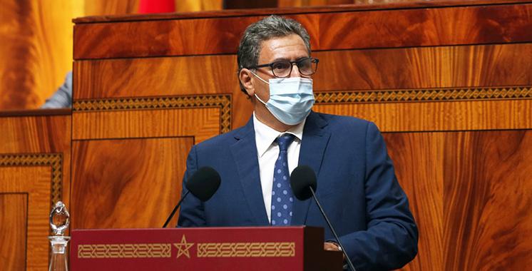 Aziz Akhannouch a exposé le budget de son département à la Chambre des conseillers : Près de 15 milliards DH d'investissement prévus pour l'exercice 2021