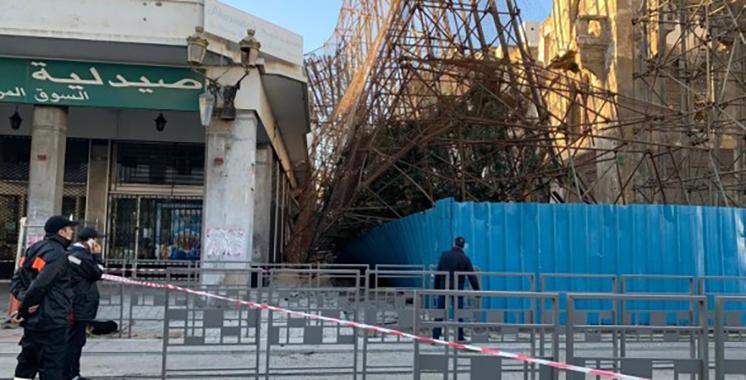 Risque d'effondrement de l'hôtel Lincoln : La ligne T1 en arrêt sur la zone centre-ville