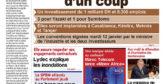 Journal Électronique du Mercredi 13 Janvier 2021