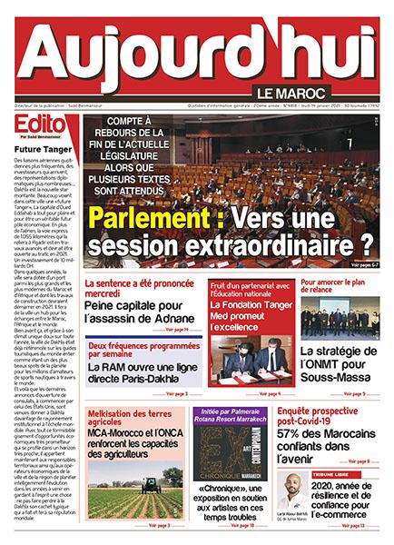 Journal Électronique du Jeudi 14 Janvier 2021