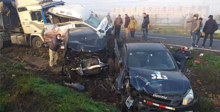Accidents de la  circulation : 15 morts et 2.382 en une semaine