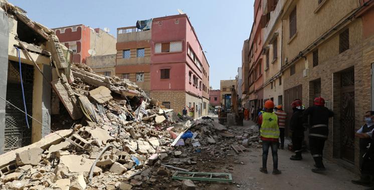 Casablanca: un mort et 4 blessés dans l'effondrement du toit d'un four à l'ancienne médina