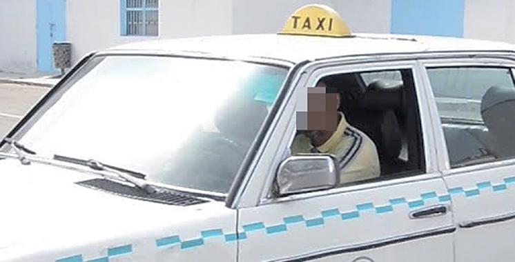 Azemmour : Un grand taxi volé retrouvé,  un suspect arrêté