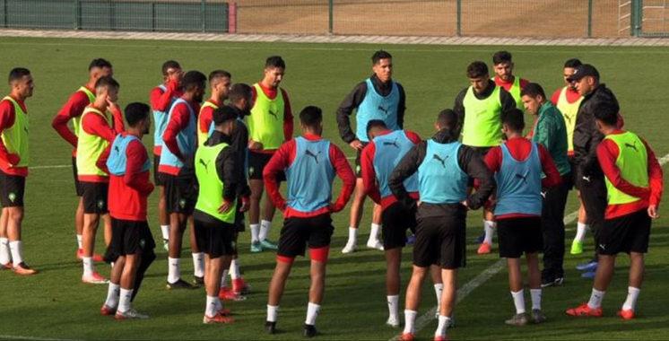 CHAN-2021 : l'équipe nationale est déterminée à assurer sa qualification aux demi-finales
