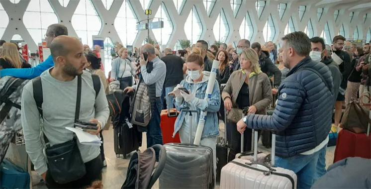 Suspension des vols de passagers en provenance et à destination de la France et de l'Espagne, à partir du 30 mars à minuit