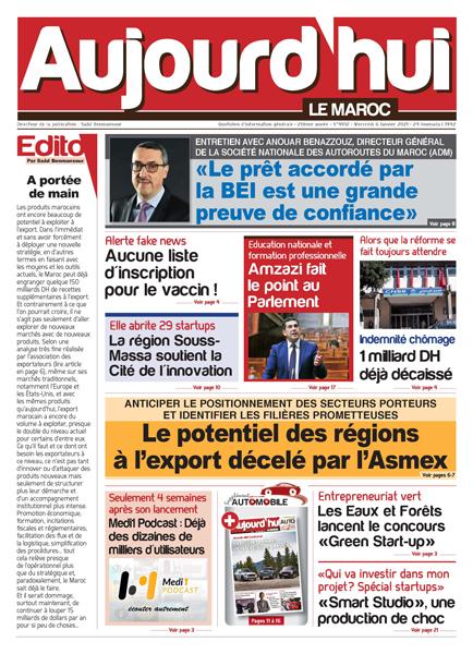 Journal Électronique du Mercredi 6 Janvier 2021