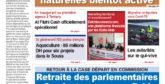 Journal Électronique du Mardi 12 Janvier 2021
