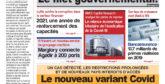 Journal Électronique du Mercredi 20 Janvier 2021