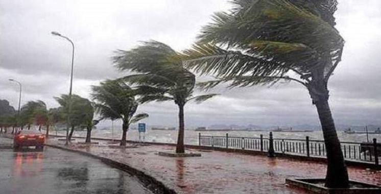 Alerte météo : Fortes rafales de vent mercredi et jeudi