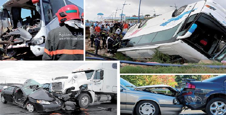 DGSN : Baisse de plus de 18% des accidents de la circulation en 2020