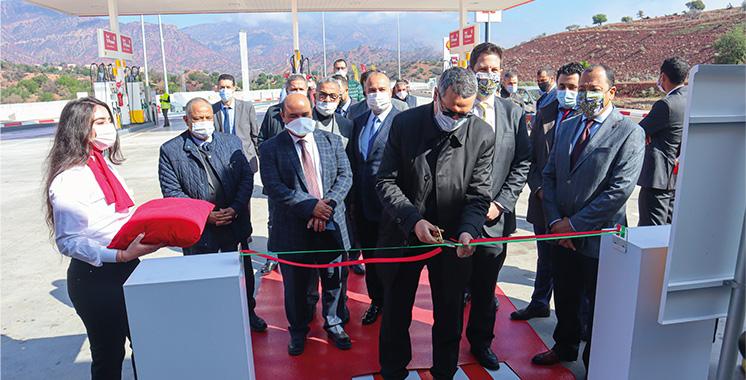 Inauguration de deux nouvelles stations-service sur l'axe autoroutier Casablanca – Agadir
