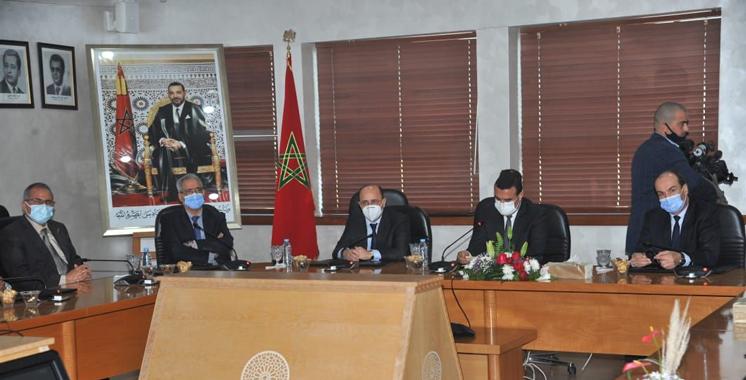 Casablanca: installation du nouveau DG de la CNSS, Hassan Boubrik