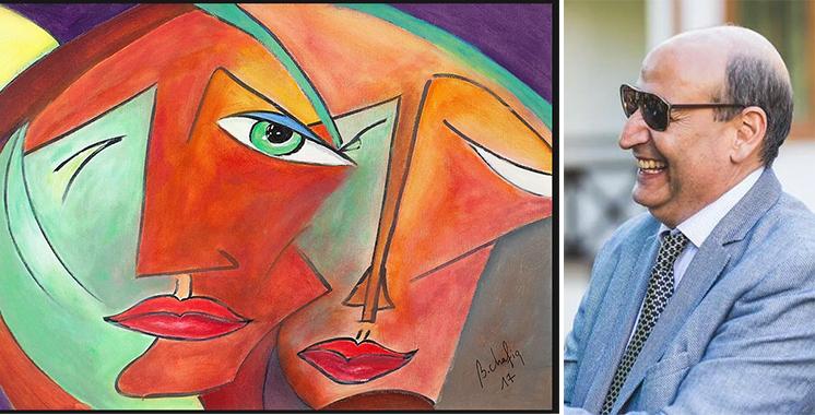 Chafik Bentounsi, un artiste-peintre  au pinceau mêlé aux différents styles