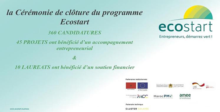 Ecostart : 10 projets d'entrepreneuriat vert primés