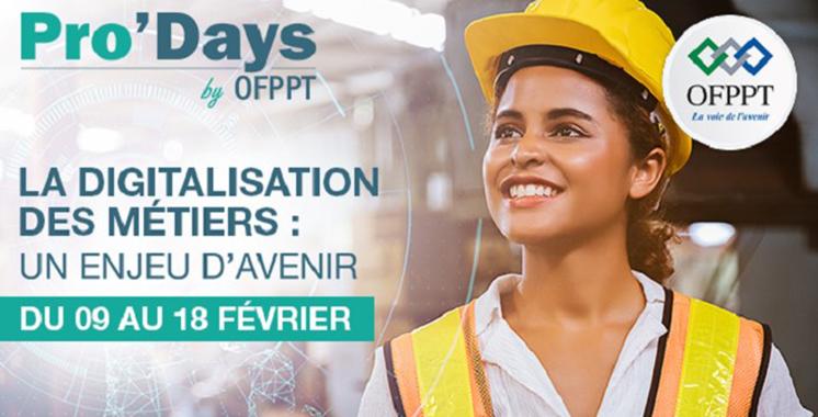 OFPPT : La 3ème édition des Pro'Days déclarée ouverte