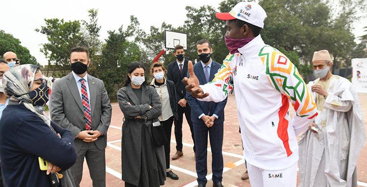 Lancée par TIBU Maroc et ses partenaires à Casablanca : «Sport pour le Développement», une activité  pour 12.000 élèves dans 30 écoles publiques