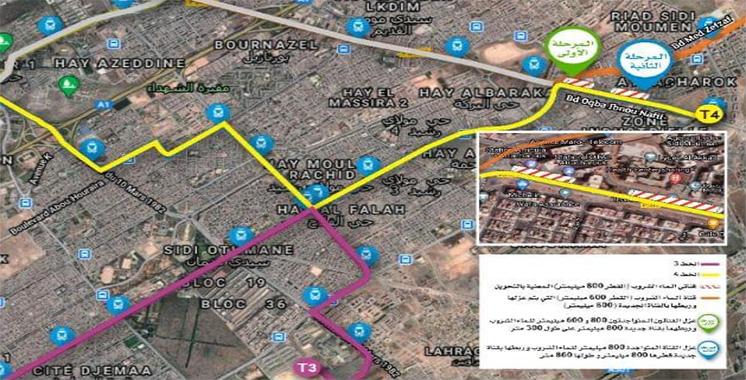 Eau potable : Lydec annonce une perturbation du service dans certaines zones de Casablanca