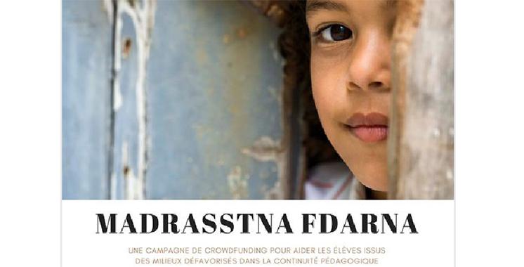 «Madrasstna Fdarna» une campagne de solidarité signée L'Heure Joyeuse