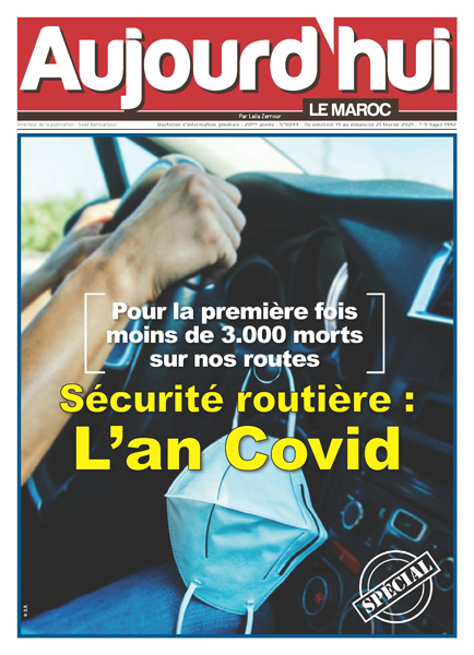 Spécial sécurité routière : L'an Covid