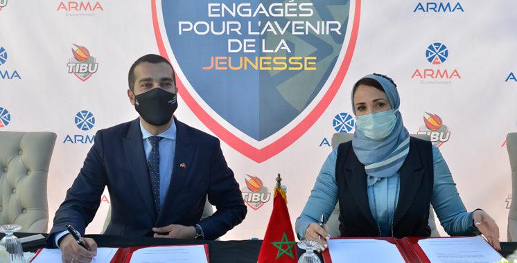Pour promouvoir l'éducation par le sport et l'environnement : TIBU Maroc et ARMA Holding joignent leurs efforts