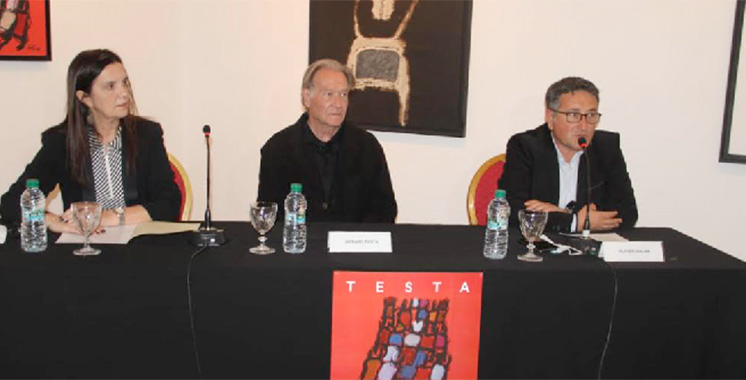 Tanger : L'Institut français reprend ses activités  par une exposition de Gérard Testa